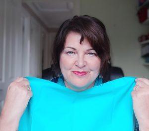 aqua drape: colour testing