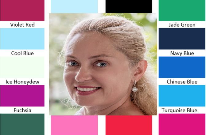 colour analysis using digital photos