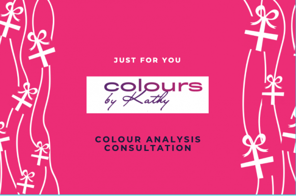 Colours by Kathy Analysis Consultation Gift Voucher (front)